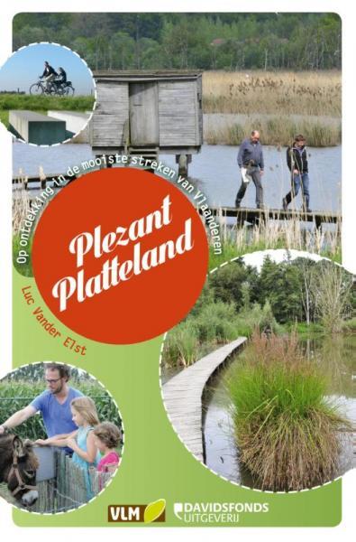 Plezant Platteland 9789063066611 Luc Vander Elst Davidsfonds   Reisgidsen Vlaanderen