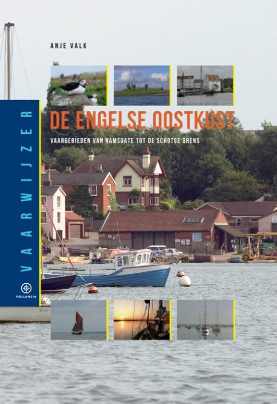 Engelse Oostkust 9789064106422  Hollandia Vaarwijzers  Watersportboeken Lincolnshire, Norfolk, Suffolk, Cambridge