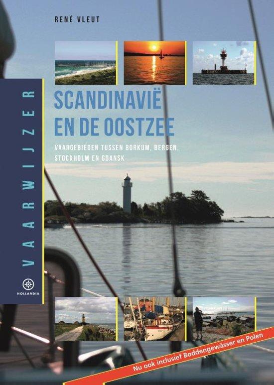 Vaarwijzer Scandinavië en de Oostzee 9789064106590 René Vleut Hollandia Vaarwijzers  Watersportboeken Scandinavië & de Baltische Staten