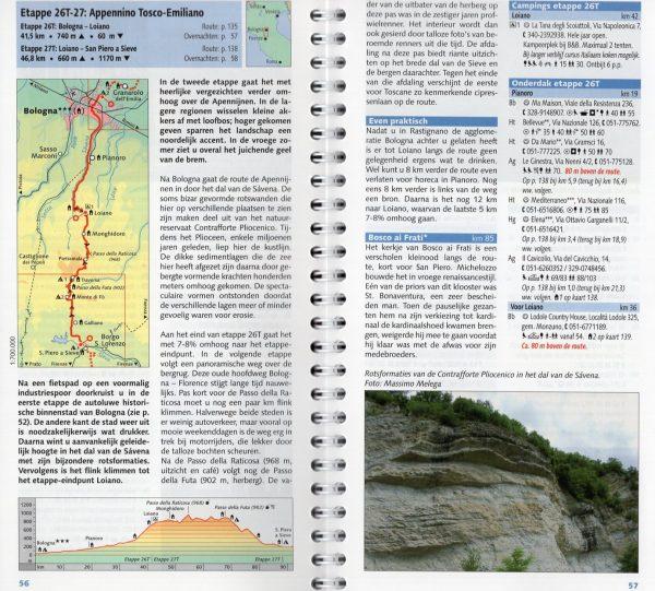 Reitsma's Route naar Rome, deel 3 9789064558405  Pirola Pirola fietsgidsen  Fietsgidsen, Meerdaagse fietsvakanties Midden-Italië