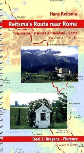 Reitsma's Route naar Rome, deel 2 9789064558474  Pirola Pirola fietsgidsen  Fietsgidsen, Meerdaagse fietsvakanties Europa, Italië
