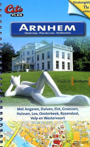 Arnhem, stratengidsje 9789065802507  Citoplan Stratengidsen  Stadsplattegronden Arnhem en de Veluwe