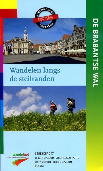 SP-17  De Brabantse Wal | Streekpad 9789071068003  Wandelnet Streekpaden  Meerdaagse wandelroutes, Wandelgidsen Noord-Brabant