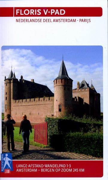 LAW 1-3 Graaf Floris V pad 9789071068775  Wandelnet LAW-Gidsen  Meerdaagse wandelroutes, Wandelgidsen Den Haag, Rotterdam en Zuid-Holland, Noord-Brabant