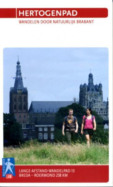 LAW 13  Hertogenpad 9789071068829  Wandelnet LAW-Gidsen  Meerdaagse wandelroutes, Wandelgidsen Noord- en Midden-Limburg, Noord-Brabant