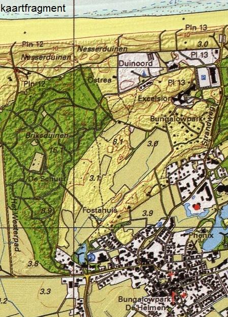 Ameland 1:25.000 9789077350973  K&A   Wandelkaarten Waddeneilanden en Waddenzee