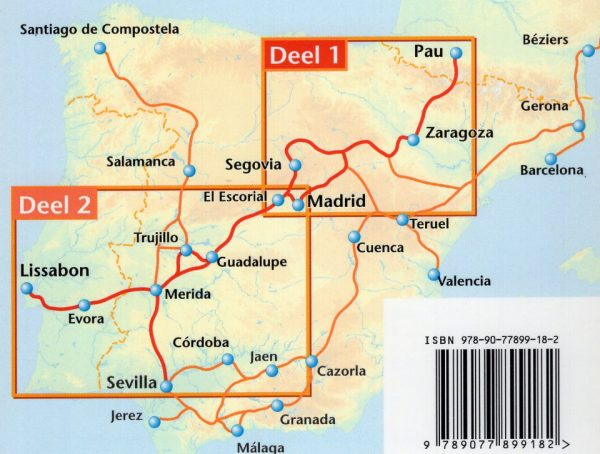 Ruta Ibérica: deel 1: Pau - Madrid (Benjaminse fietsgids) 9789077899182 Paul Benjaminse Benjaminse Uitgeverij Onbegrensd Fietsen  Fietsgidsen, Meerdaagse fietsvakanties Spanje