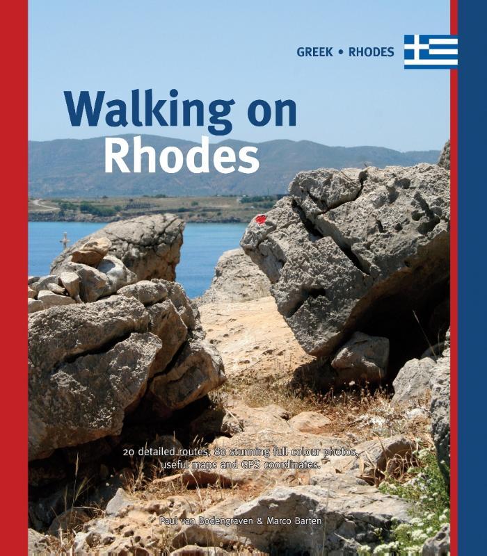 Walking on Rhodes 9789078194101 Paul van Bodengraven en Marco Barten Smaakmakers / One Day Walks   Wandelgidsen Egeïsche Eilanden