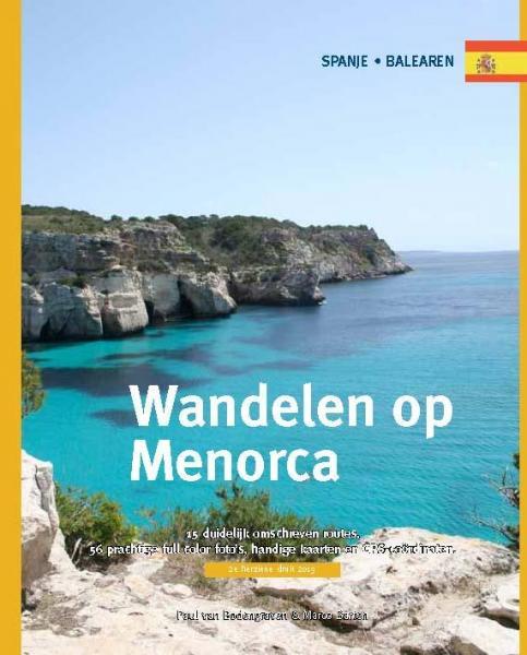 Wandelen op Menorca 9789078194170 Paul van Bodengraven en Marco Barten Smaakmakers / One Day Walks   Wandelgidsen Menorca