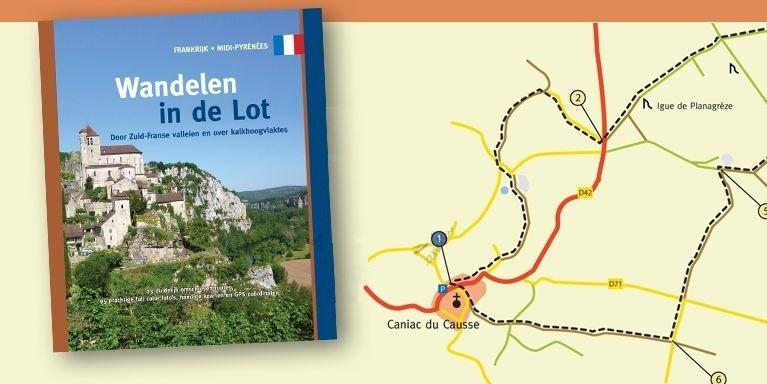 Wandelen in de Lot 9789078194217 Paul van Bodengraven en Marco Barten Smaakmakers / One Day Walks   Wandelgidsen Lot, Tarn, Toulouse