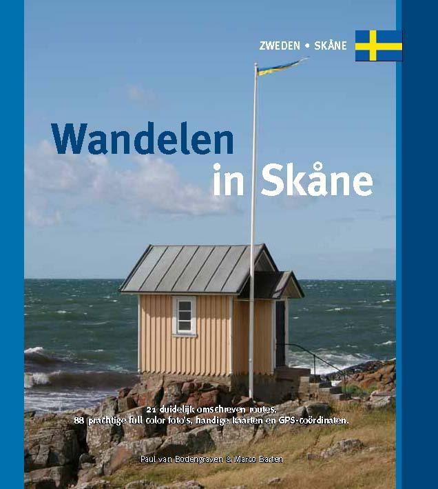 Wandelen in Skåne (Skane) 9789078194262 Paul van Bodengraven Smaakmakers / One Day Walks   Wandelgidsen Zuid-Zweden