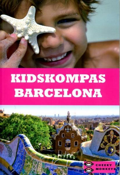 Kidskompas Barcelona 9789080764101  Cheeky Monkeys   Kinderboeken, Reisgidsen Barcelona