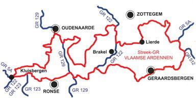 Vlaamse Ardennen | wandelgids 9789081396400  Grote Routepaden Topogidsen  Meerdaagse wandelroutes, Wandelgidsen Vlaanderen & Brussel