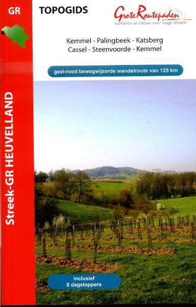 Streek GR Heuvelland | wandelgids 9789081396424  Grote Routepaden Topogidsen  Meerdaagse wandelroutes, Wandelgidsen Vlaanderen