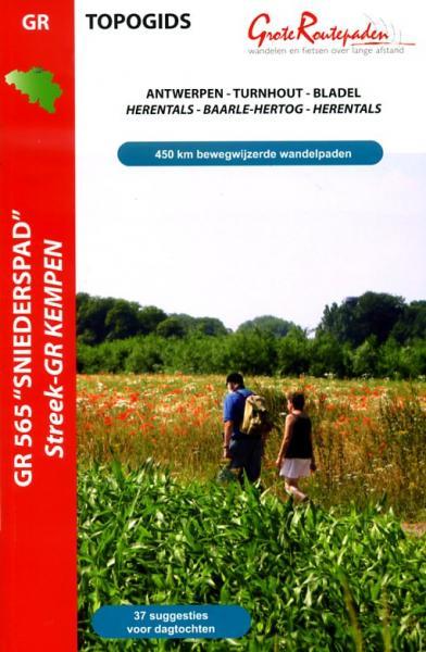 GR-565 Sniederspad | wandelgids 9789081396431  Grote Routepaden Topogidsen  Meerdaagse wandelroutes, Wandelgidsen Vlaanderen