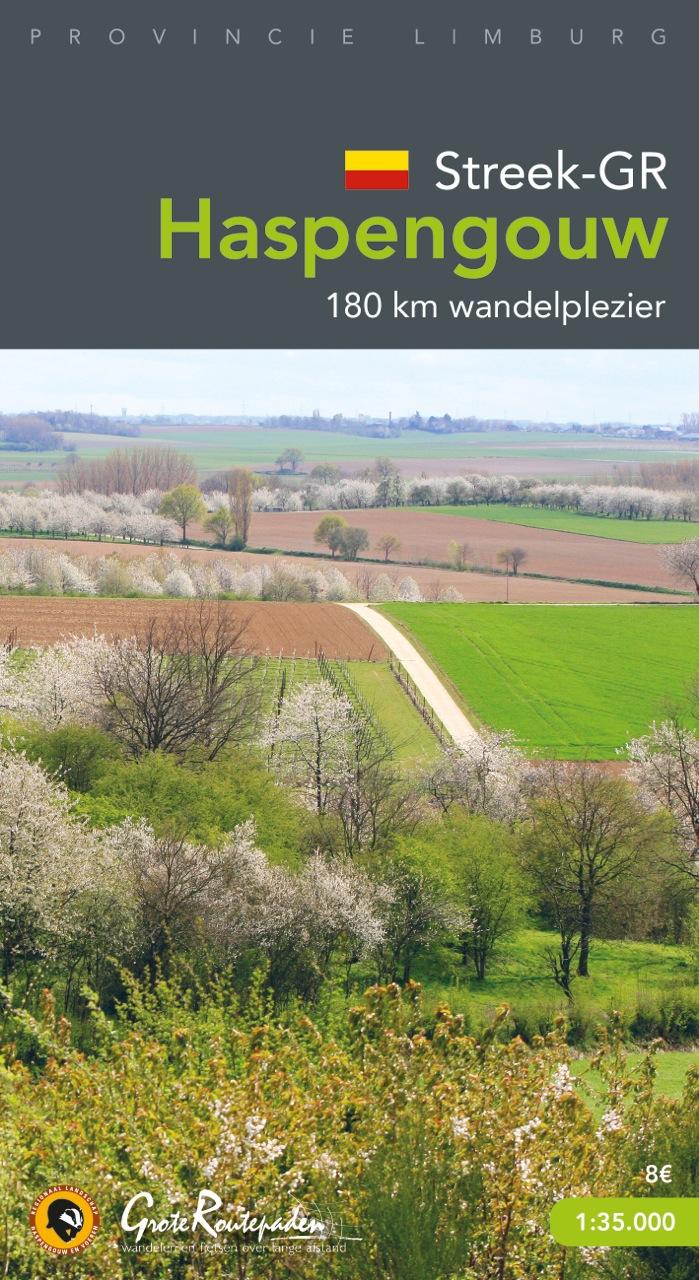 Streek-GR Haspengouw (wandelkaart 1:35.000) 9789081920056  Grote Routepaden Topogidsen  Wandelkaarten Vlaanderen