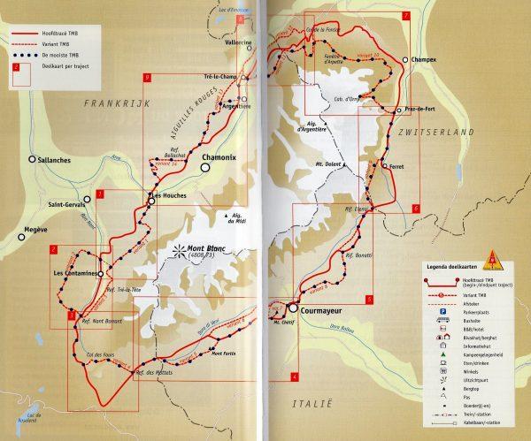 Tour du Mont Blanc | Noes Lautier 9789082334517 Noes Lautier Robert Weijdert   Meerdaagse wandelroutes, Wandelgidsen Franse Alpen: noord