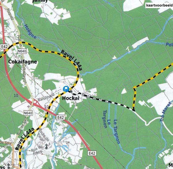 ALV-07  Provincie Luik met de Oostkantons 1:75.000 9789082714449  Alta Via   Fietskaarten Wallonië (Ardennen)