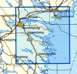 VK-123  Norrkoping 1:100.000 9789158801233  Kartförlaget - Lantmäteriet Vägkartan  Landkaarten en wegenkaarten Zuid-Zweden