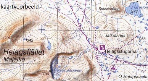 AC-4 Fatmomakke/ Saxnäs 9789158895775  Kartförlaget - Lantmäteriet Fjällkartan  Wandelkaarten Zweden boven Uppsala