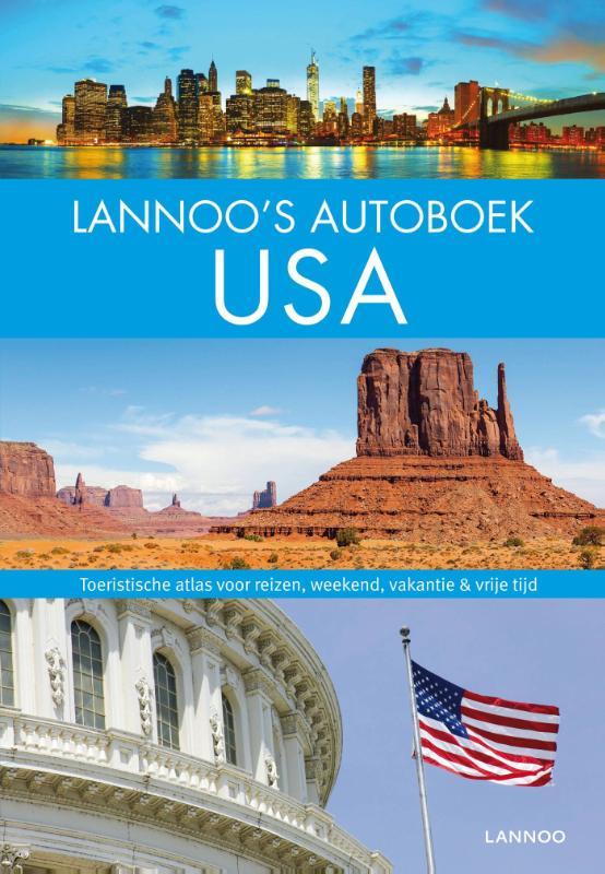Lannoo's Grote Autoboek USA 9789401414661  Lannoo Lannoos Autoboeken  Reisgidsen Verenigde Staten