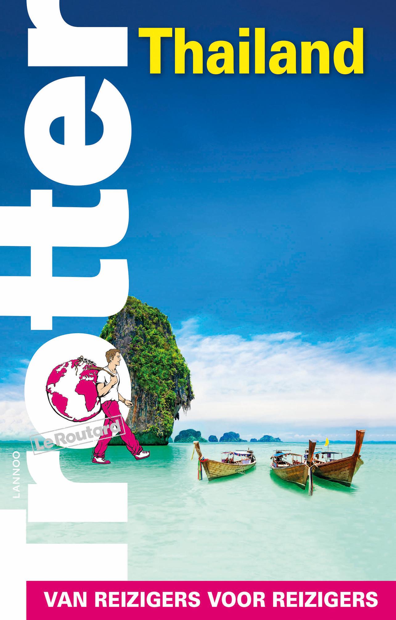 Trotter Thailand 9789401431910  Lannoo Trotter  Reisgidsen Thailand