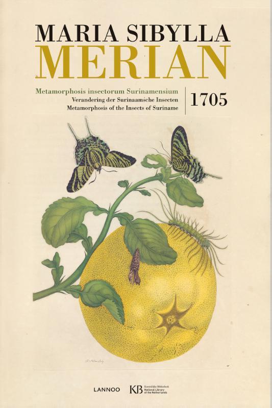 Metamorphosis insectorum Surinamensium | Maria Sibylla Merian 9789401433785 Maria Sibylla Merian Lannoo   Landeninformatie, Natuurgidsen Suriname, Frans en Brits Guyana