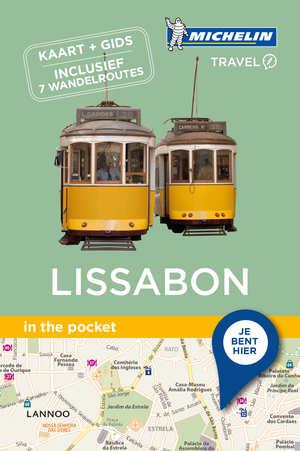 Lissabon - in the pocket 9789401439800  Michelin In the pocket  Reisgidsen Noord en Midden-Portugal, Lissabon
