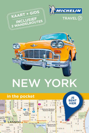 New York - in the pocket 9789401439831  Michelin In the pocket  Reisgidsen New York, Pennsylvania, Washington DC