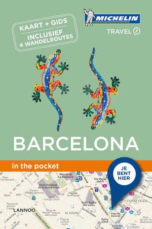 Barcelona - in the pocket 9789401439848  Michelin In the pocket  Reisgidsen Barcelona