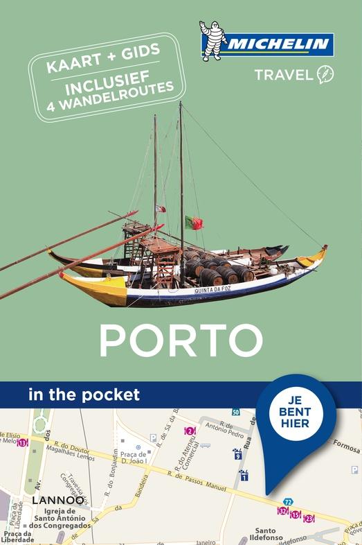 Porto - in the pocket 9789401439886  Michelin In the pocket  Reisgidsen Noord en Midden-Portugal, Lissabon