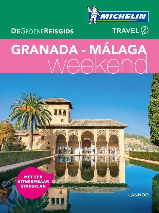 Michelin Groene Reisgids Weekend Granada en Malaga 9789401448796  Michelin Michelin Groene Gids Weekend  Reisgidsen Andalusië, Malaga