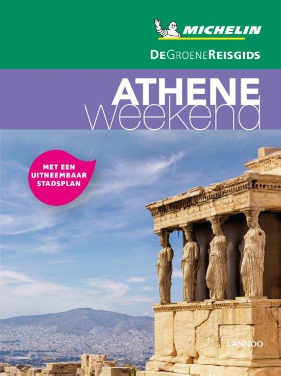Michelin Groene Reisgids Weekend Athene 9789401448802  Michelin Michelin Groene Gids Weekend  Reisgidsen Midden en Noord-Griekenland, Athene