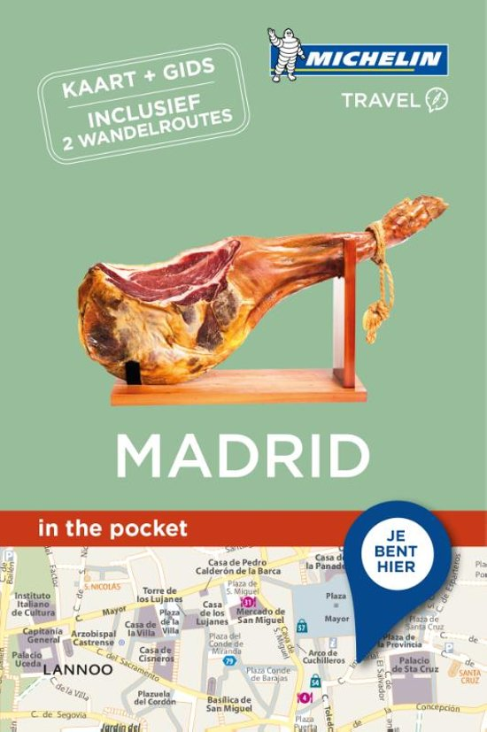 Madrid  - in the pocket 9789401448888  Michelin In the pocket  Reisgidsen Madrid