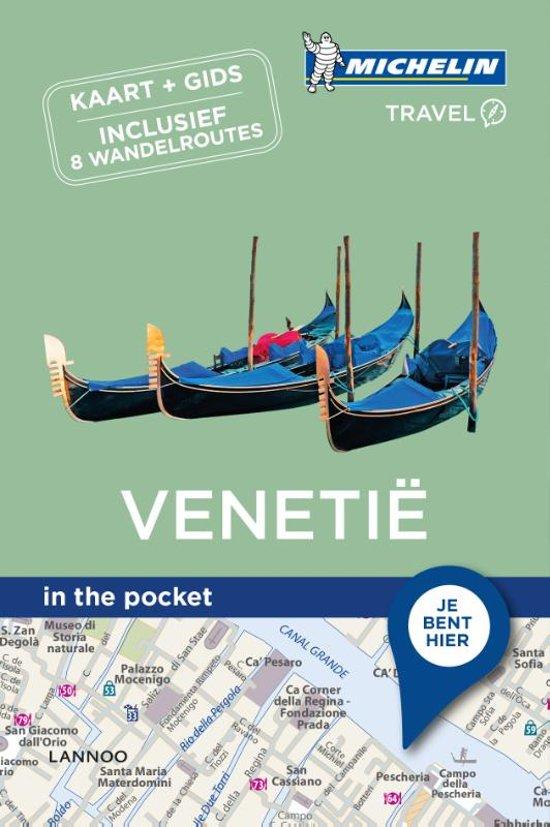 Venetië - in the pocket 9789401448901  Michelin In the pocket  Reisgidsen Venetië, Veneto, Friuli