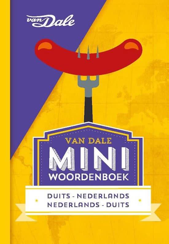 Duits-Nederlands v.v. | miniwoordenboek 9789460773846  Van Dale Miniwoordenboek  Taalgidsen en Woordenboeken Duitsland