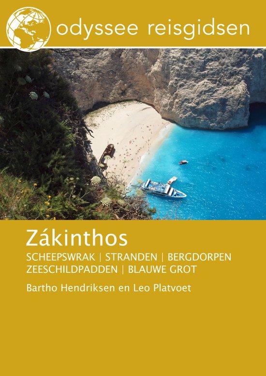 Zákinthos (Zakynthos) | reisgids 9789461230324 Bartho Hendriksen en Leo Platvoet Odyssee   Reisgidsen Ionische Eilanden (Korfoe, Lefkas, etc.)