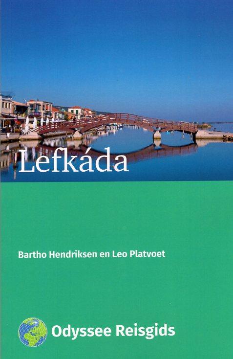 Lefkada | reisgids 9789461230522 Bartho Hendriksen en Leo Platvoet Odyssee   Reisgidsen Ionische Eilanden (Korfoe, Lefkas, etc.)