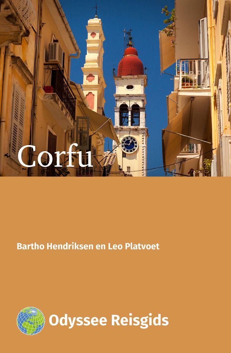 Corfu | Odyssee reisgids 9789461230584  Odyssee   Reisgidsen Ionische Eilanden (Korfoe, Lefkas, etc.)