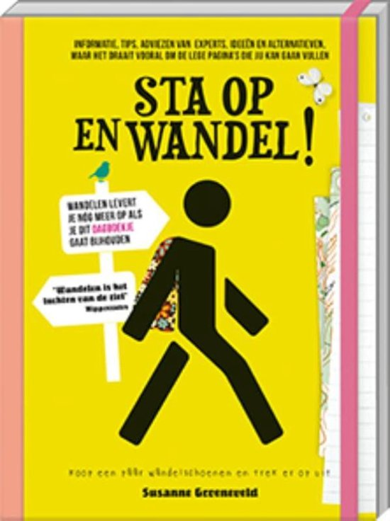 Sta op en wandel! |  wandeldagboek 9789461448729 Susanne Groeneveld Image Books   Wandelgidsen Reisinformatie algemeen