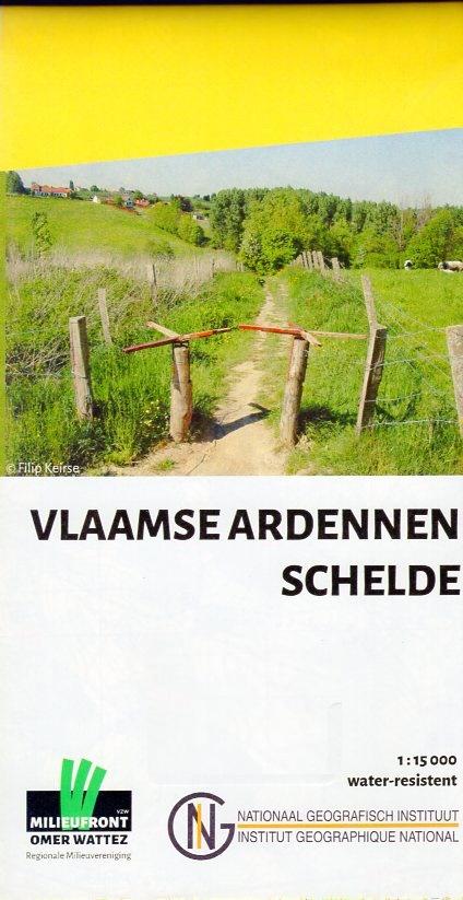 Vlaamse Ardennen / Schelde 1:15.000 9789462351691  NGI   Wandelkaarten Vlaanderen & Brussel