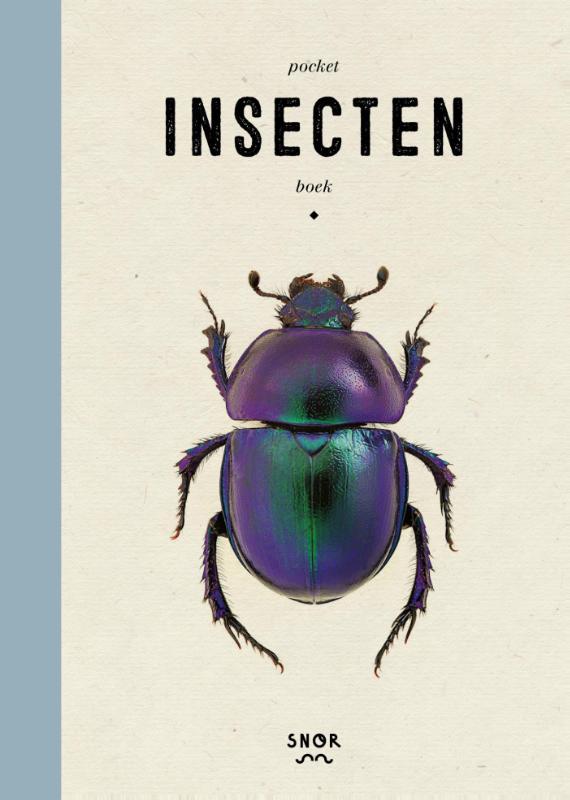 Pocket insectenboek 9789463140171 Gerard Janssen Uitgeverij snor   Natuurgidsen Benelux
