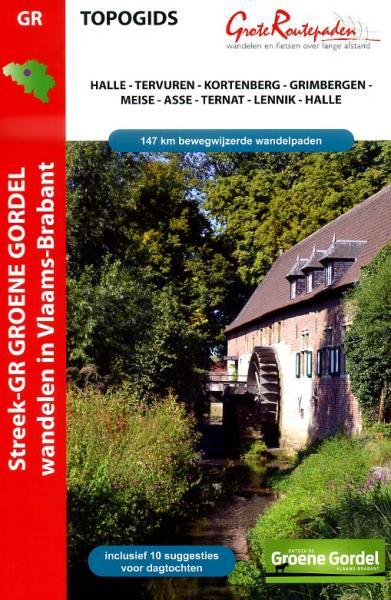 Streek GR Groene Gordel | wandelgids 9789490156282  Grote Routepaden Topogidsen  Meerdaagse wandelroutes, Wandelgidsen Vlaanderen