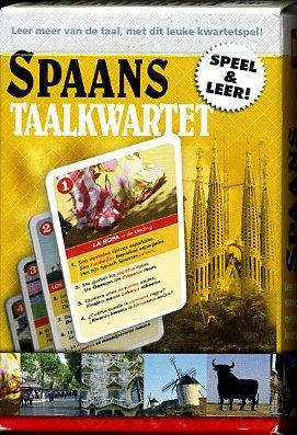 Taalkwartet Spaans 9789491263040  Scala Taalkwartetten  Cadeau-artikelen, Taalgidsen en Woordenboeken Spanje