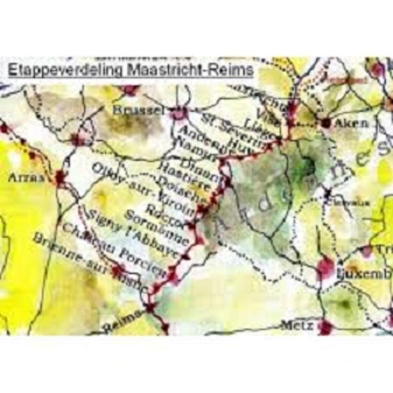 De weg van de Franken (I) 9789491899072 Ben Teunissen Forte   Lopen naar Rome, Wandelgidsen Europa, Noordoost Frankrijk