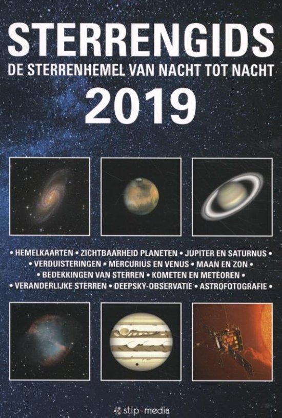 Sterrengids 2019 9789492114075  De Stip   Reisgidsen Universum (Heelal)