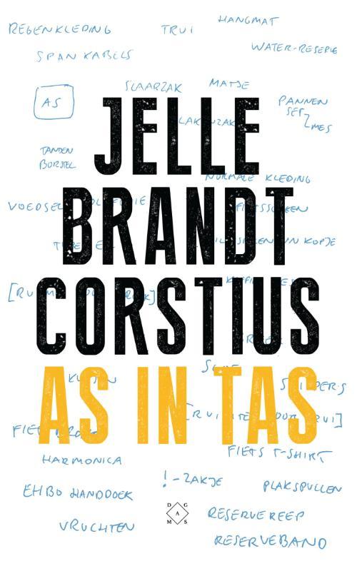 As in Tas 9789492478085 Jelle Brandt Corstius Das Mag   Fietsreisverhalen Europa