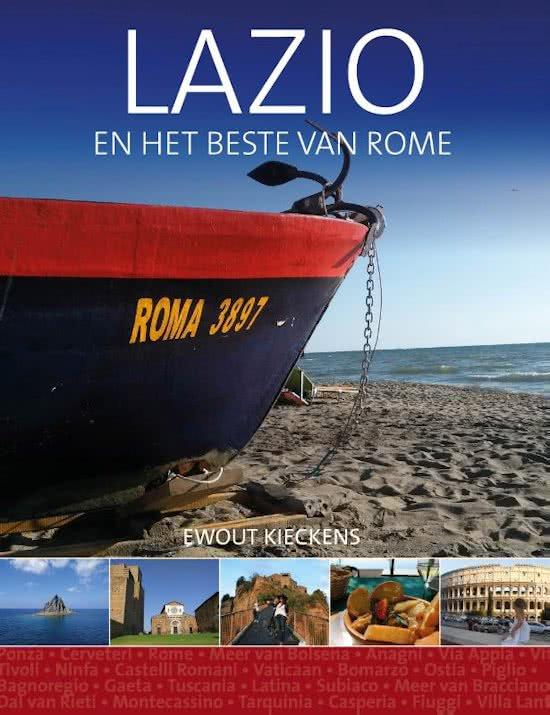 Lazio en het beste van Rome 9789492500175 Ewout Kieckens Edicola   Reisgidsen Rome, Lazio