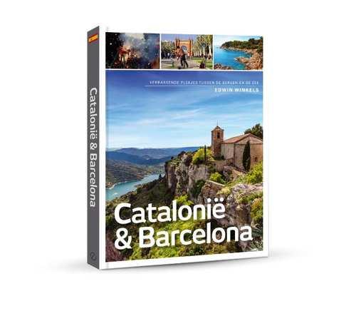 Catalonië & Barcelona | reisgids (Edwin Winkels) 9789492500656 Edwin Winkels Edicola   Reisgidsen Barcelona, Catalonië