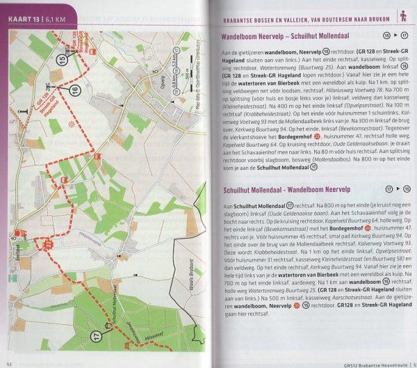 GR 512 Brabantse Heuvelroute | wandelgids 9789492608024  Grote Routepaden Topogidsen  Meerdaagse wandelroutes, Wandelgidsen Vlaanderen & Brussel